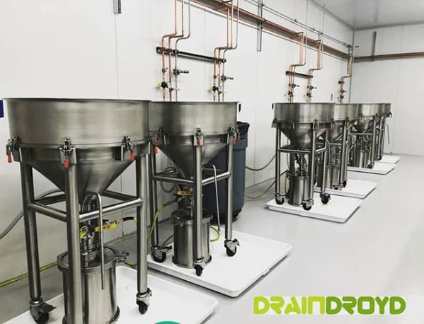 DrainDroyd Eliminates Bottlenecks in Hemp Oil Filtration