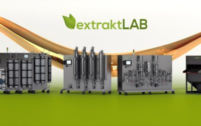 Newest extraktLAB products for Hemp CBD Oil Production