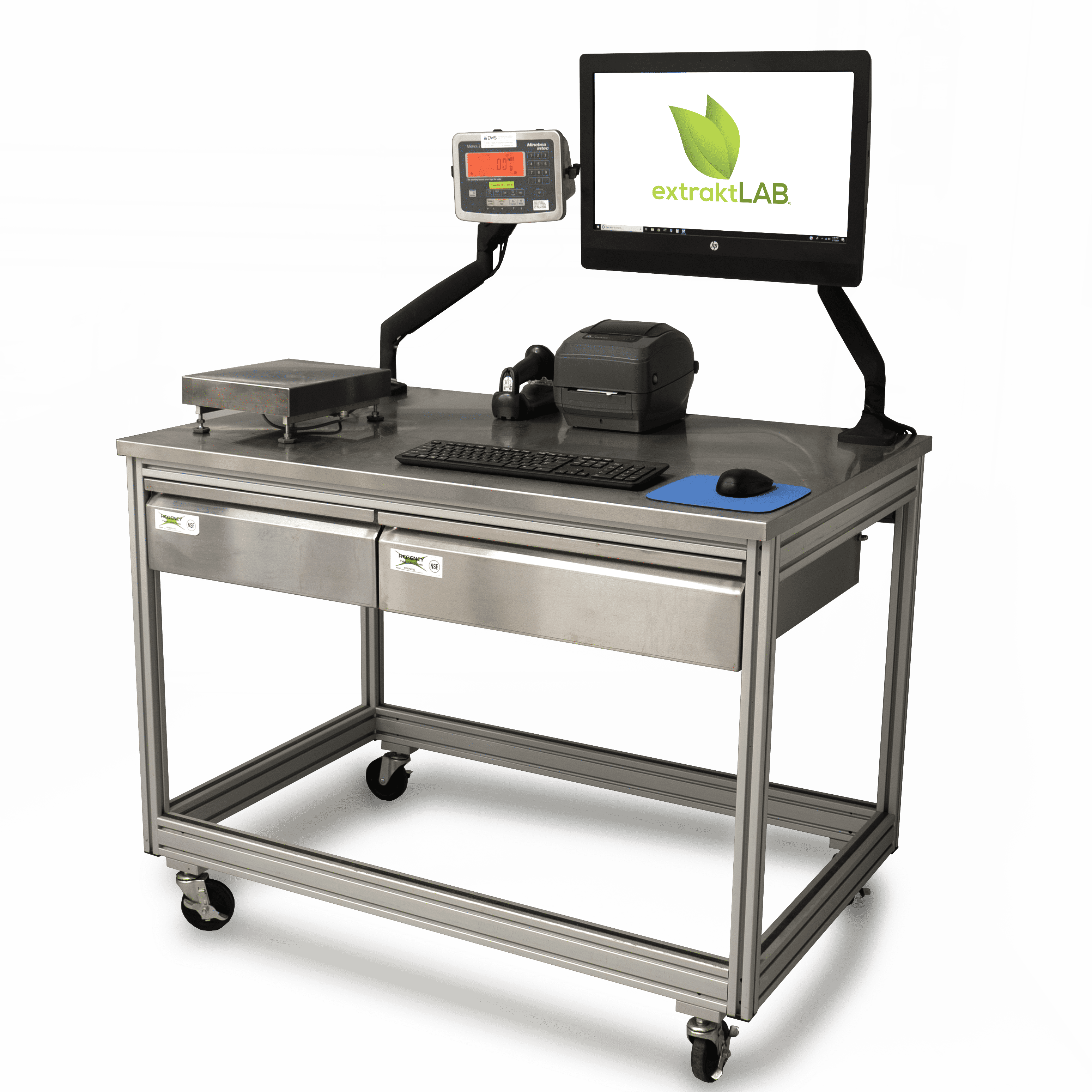 computer on a lab