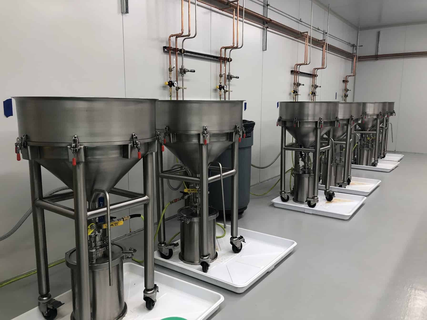 DrainDroyds in Winterize Wax Filtration Room