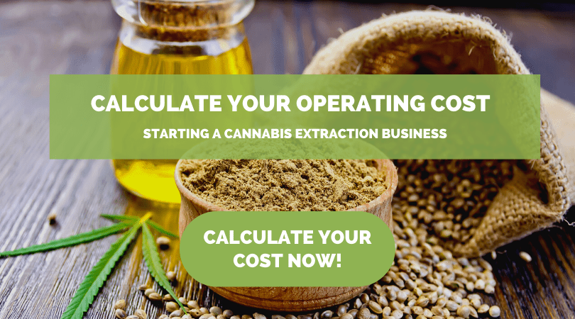 banner for Operating Costs of Starting A Cannabis Extraction